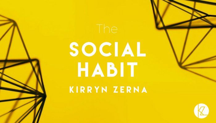 How to create a Social Habit